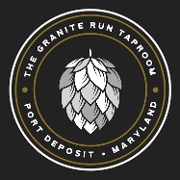 This is the restaurant logo for Granite Run Taproom