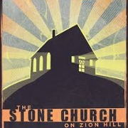 This is the restaurant logo for The Stone Church