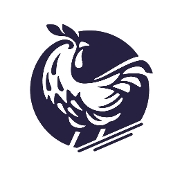 This is the restaurant logo for Farmbird