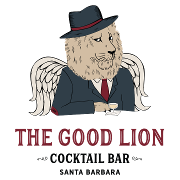 This is the restaurant logo for The Good Lion