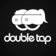 This is the restaurant logo for DoubleTap KC