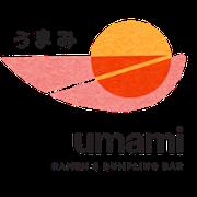 This is the restaurant logo for Umami Ramen & Dumpling Bar