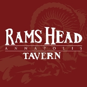 This is the restaurant logo for RAMS HEAD TAVERN