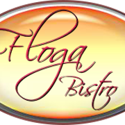 This is the restaurant logo for Floga Bistro