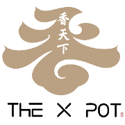 This is the restaurant logo for The X Pot