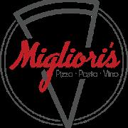 This is the restaurant logo for Migliori's Pizzeria