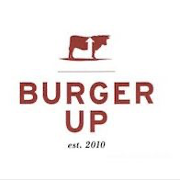 This is the restaurant logo for Burger Up 12 South