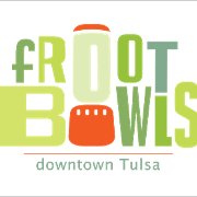 This is the restaurant logo for fROOT Bowls