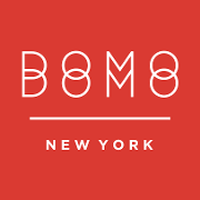 This is the restaurant logo for DOMODOMO NYC