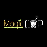 This is the restaurant logo for Magic Cup Cafe