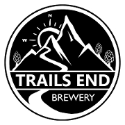 This is the restaurant logo for Trails End Brewery