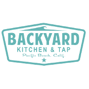 This is the restaurant logo for Backyard Kitchen & Tap