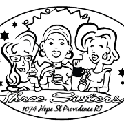 This is the restaurant logo for Three Sisters