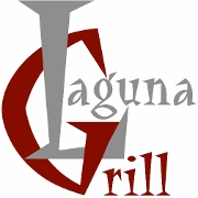 This is the restaurant logo for Laguna Grill