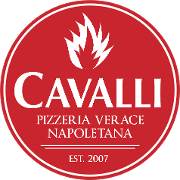 This is the restaurant logo for Cavalli Pizza