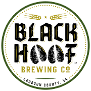 This is the restaurant logo for Black Hoof Brewing Co.