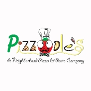 This is the restaurant logo for Pizzoodles