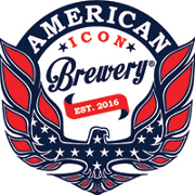 This is the restaurant logo for American Icon Brewery