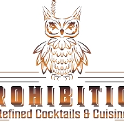 This is the restaurant logo for Prohibition