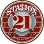 Restaurant logo for Station 21 American Grill