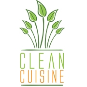 This is the restaurant logo for Clean Cuisine