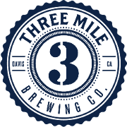 This is the restaurant logo for Three Mile Brewing Co.