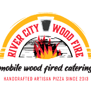 This is the restaurant logo for River City Wood Fire