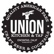 This is the restaurant logo for Union Kitchen & Tap Encinitas