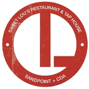 This is the restaurant logo for Sweet Lou's Restaurant and Bar