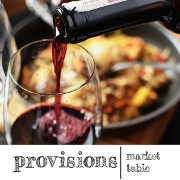 This is the restaurant logo for Provisions Market Table