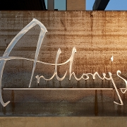 This is the restaurant logo for Anthony's Chophouse