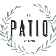 This is the restaurant logo for The Patio on Main