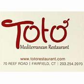 This is the restaurant logo for Toto' Mediterranean Restaurant