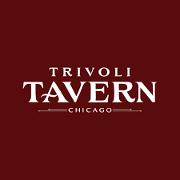 This is the restaurant logo for Trivoli Tavern