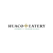 This is the restaurant logo for Huaco Eatery