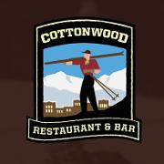 This is the restaurant logo for Cottonwood Restaurant & Bar REBUILDING