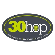 This is the restaurant logo for 30hop