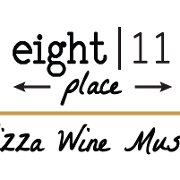 This is the restaurant logo for Eight 11 Place