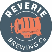 This is the restaurant logo for Reverie Brewing Company