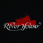 This is the restaurant logo for The River House Restaurant