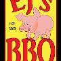 Restaurant logo for EJ's BBQ & Take-Out