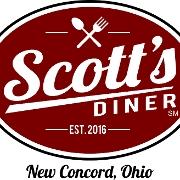 This is the restaurant logo for Scott's Diner LLC