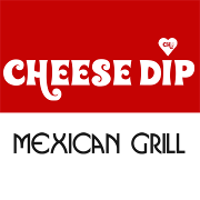 This is the restaurant logo for Cheese Dip Mexican Grill