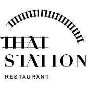 This is the restaurant logo for Thai Station Restaurant