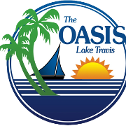 This is the restaurant logo for The OASIS on Lake Travis