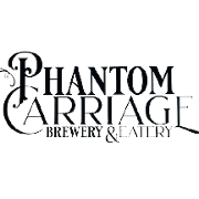 This is the restaurant logo for Phantom Carriage Brewery
