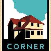 This is the restaurant logo for Corner Kitchen