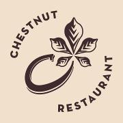 This is the restaurant logo for Chestnut Asheville