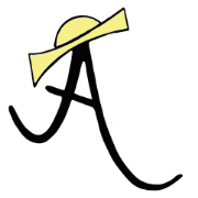 This is the restaurant logo for Amelie's French Bakery