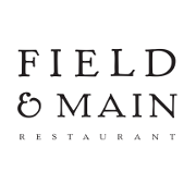 This is the restaurant logo for Field & Main